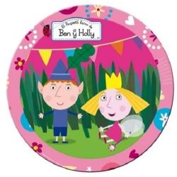 Ben And Hollys Little Kingdom Pink Party Plates