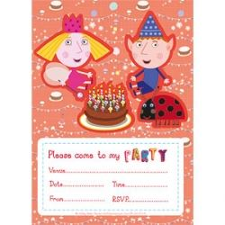 Ben And Hollys Little Kingdom Party Invitations