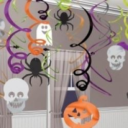 Halloween Foil Swirls Decorating Kit