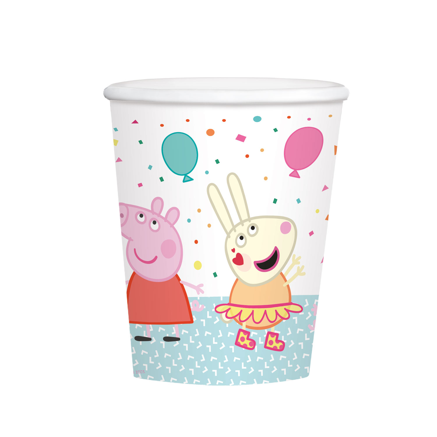 Peppa Pig Rainbow Party Cups