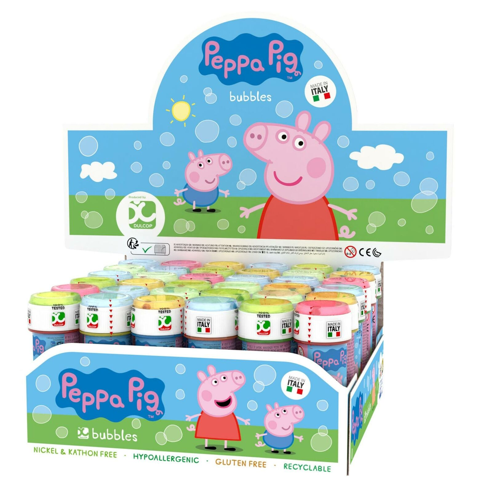 Peppa Pig Party Bubbles 60ml
