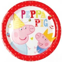 Sale Peppa Pig Red Party Plates