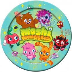 Moshi Monsters Party Plates