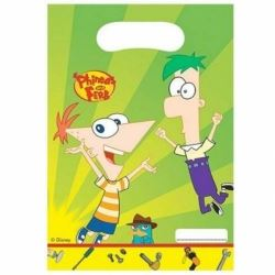 Phineas And Ferb Party Bags