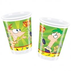 Phineas And Ferb Party Cups