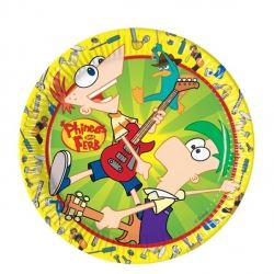 Phineas And Ferb Party Plates