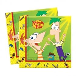 Phineas And Ferb Party Napkins