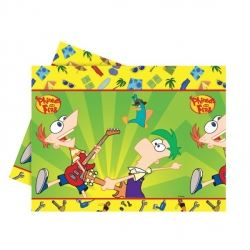 Phineas And Ferb Party Tablecover