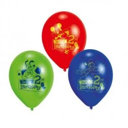 Disney Mickey Mouse Party Age 2 Balloons