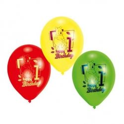 Disney Winnie The Pooh Party Age 1 Balloons