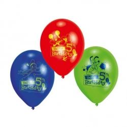 Disney Mickey Mouse Party Age 5 Balloons