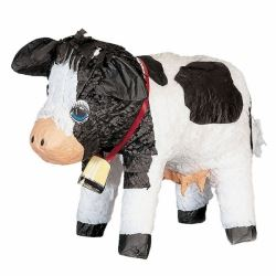 Farm Fun Cow Party Pinata