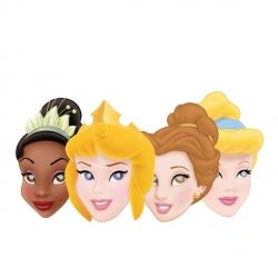 Disney Princess Party Face Masks