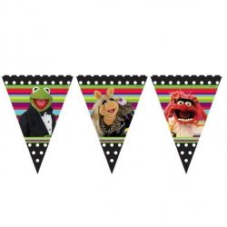 Muppet Party Flag Banner