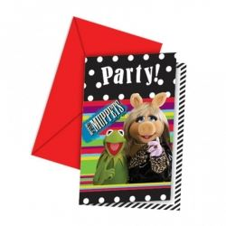 Muppet Party Invites