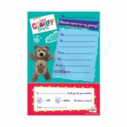 Little Charley Bear Invitation Pad