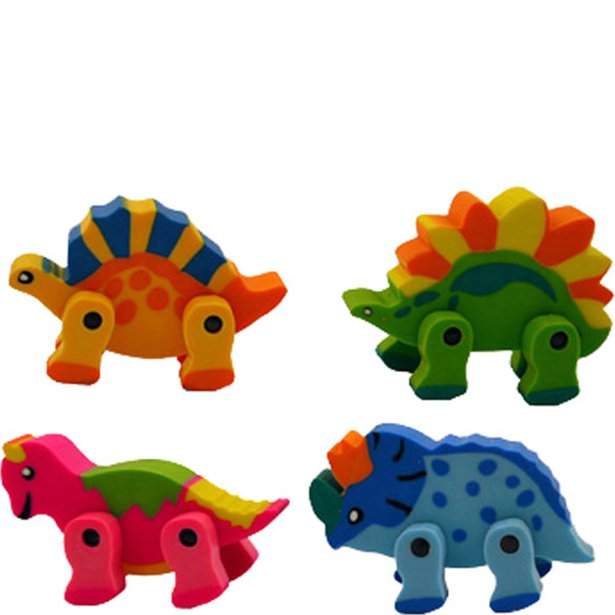 Dinosaur Party Favour Erasers