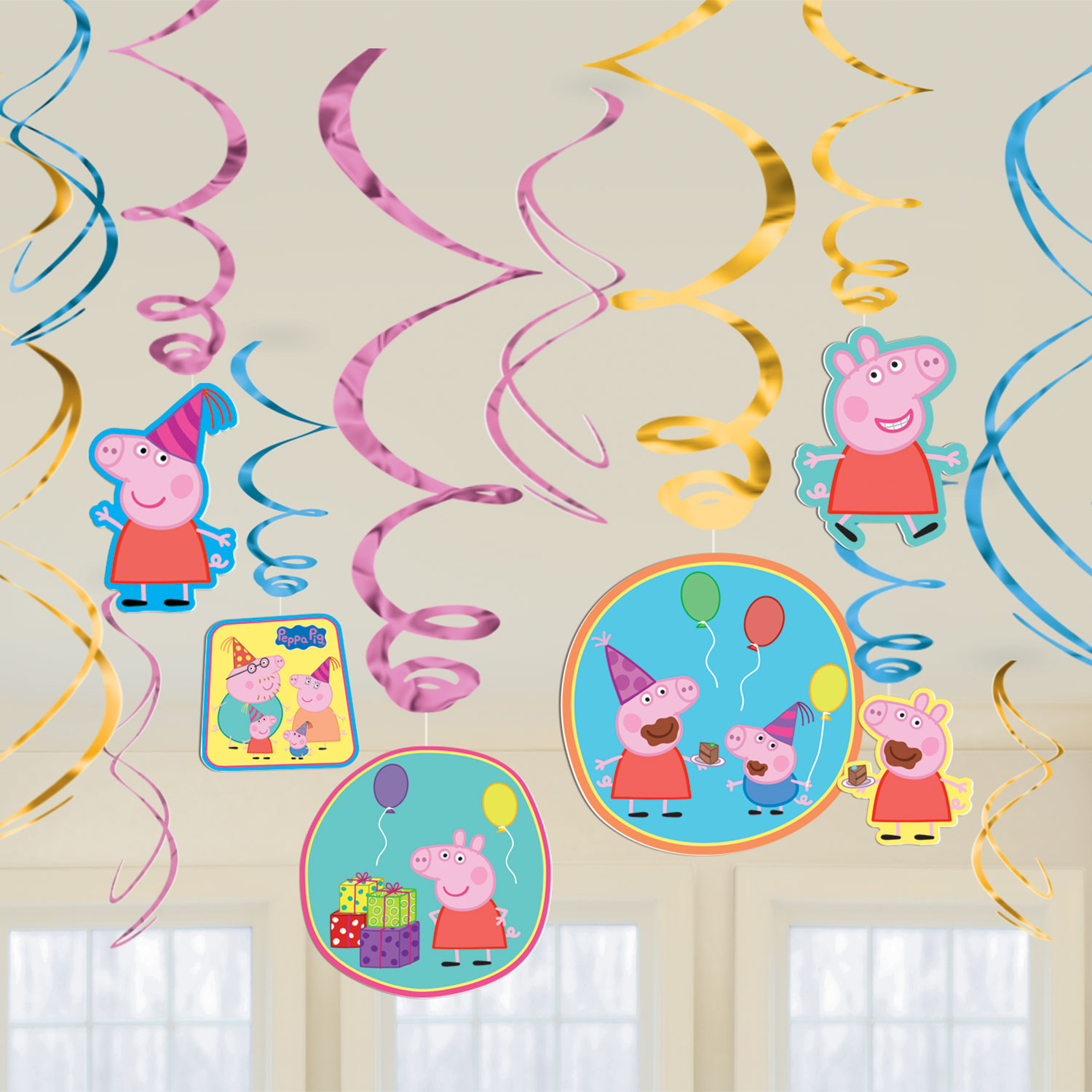 Peppa Pig Party Swirls
