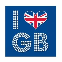 I Love GB Party Napkins