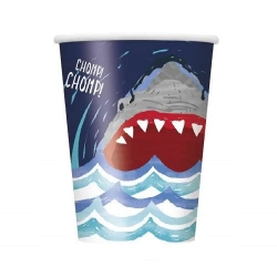Shark Splash Party Cups