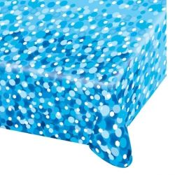 Blue Sparkle Party Tablecover