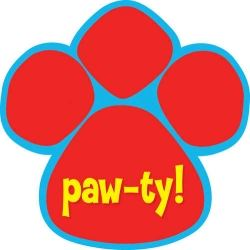 Paw-ty Time Dog Party Invitations