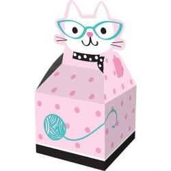 Purr-fect Cat Party Favour Boxes