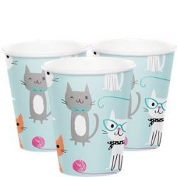 Purr-fect Party Cat Party Cups