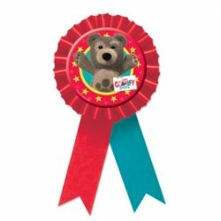 Little Charley Bear Confetti Award Ribbon