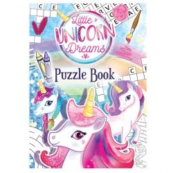 Unicorn Dreams Party Favour Puzzle Book