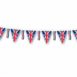 Union Jack Bunting With Tassles