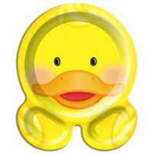 Lil Quack Bubble Bath Party Plates