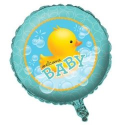 Lil Quack Rubber Duck Party Foil Balloons