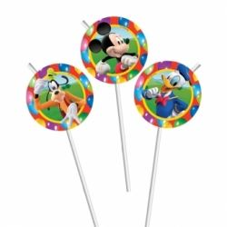 Disney Mickey Mouse Party Time Straws