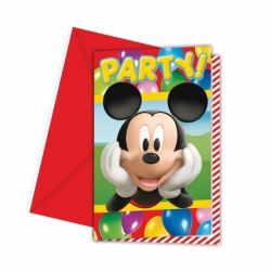 Disney Mickey Mouse Party Time Invitations