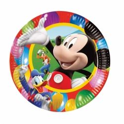 Disney Mickey Mouse Party Time Plates