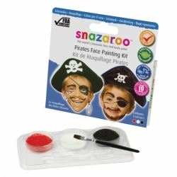 Snazaroo Face Paint Pirate Kit