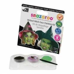 Snazaroo Face Paint Wicked Witch Kit