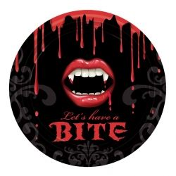 Fangtastic Vampire Party Plates