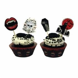 Fangtastic Vampire Party Cupcake Kit