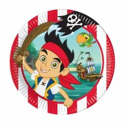 Jake And The Neverland Pirates Party Plates