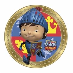 Mike the Knight Party Plates