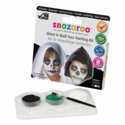 Snazaroo Face Paint Deadly Ghost and Skull Kit
