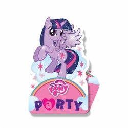 My Little Pony Party Rainbow Invitations