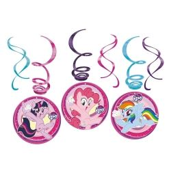 My Little Pony Party Swirls Decorations
