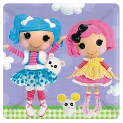 Lalaloopsy Serving Plates