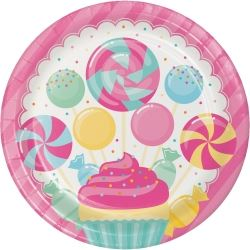 Candy Bouquet Sugar Buzz Party Plates