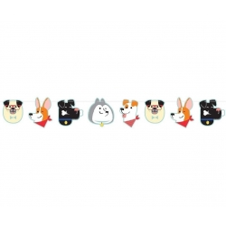 Perfect Paws Puppy Dog Party Banner