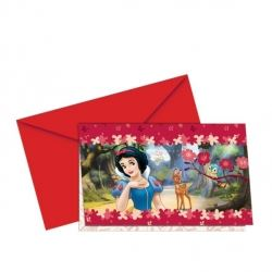 Disney Princess Snow White Party Invitations