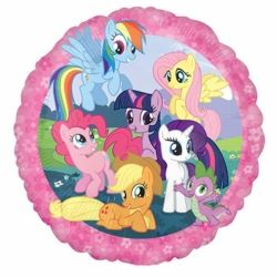 My Little Pony Happy Birthday Balloon Foil Balloons